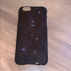 Space/twinkling stars iPhone 6 case